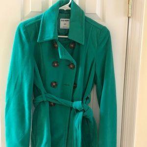 Old Navy Fleece Pea Coat